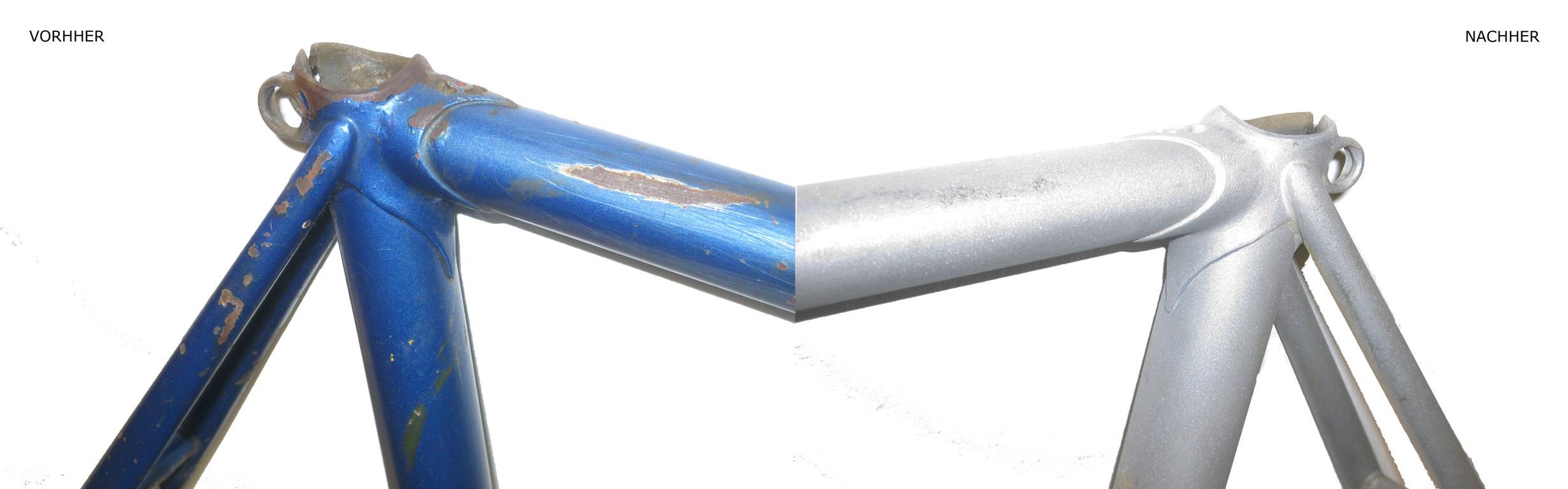 Sexszene aus blauem Stahl